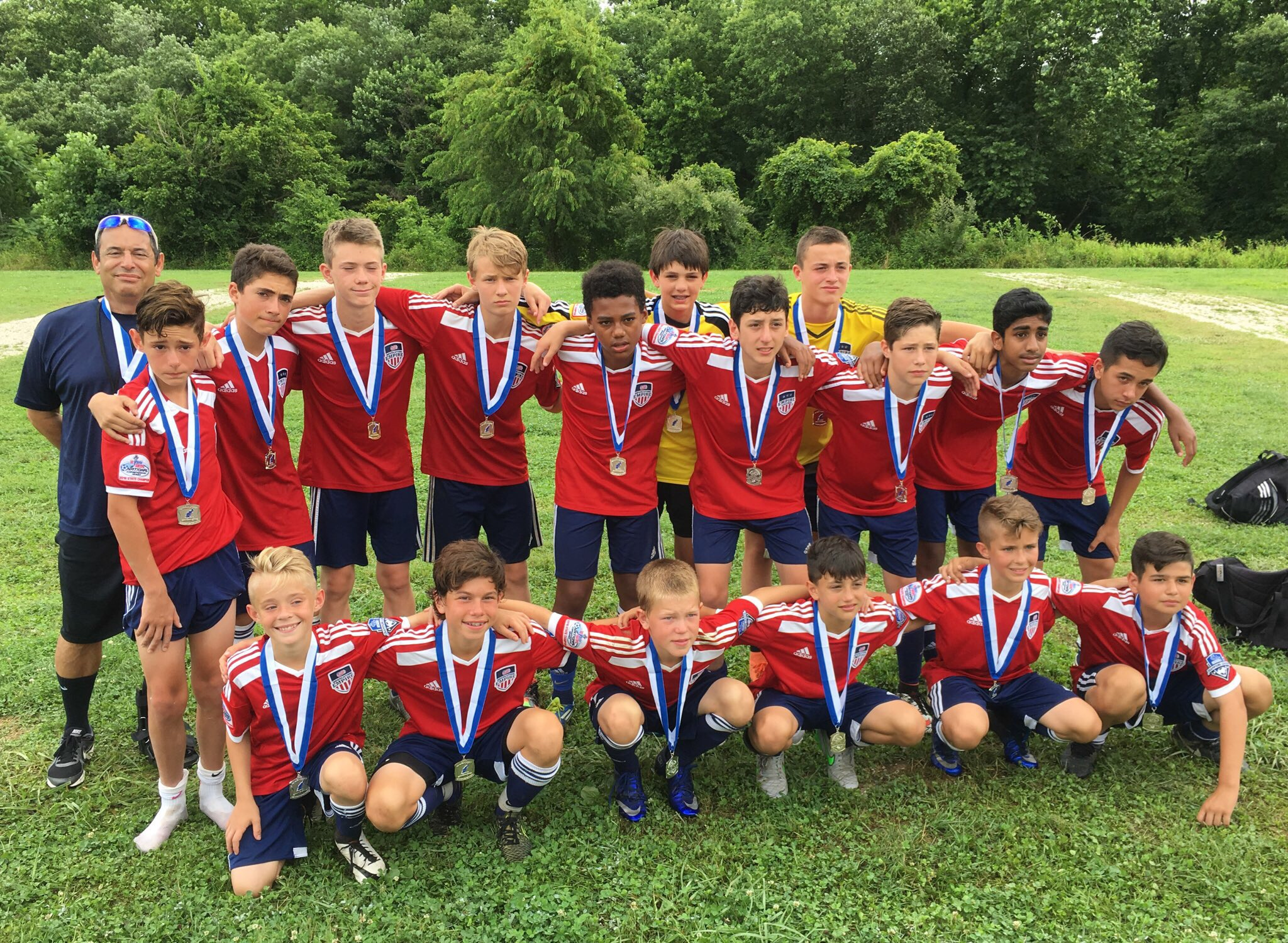 Rochester Boys 13's Finish as Region I Championships Finalists