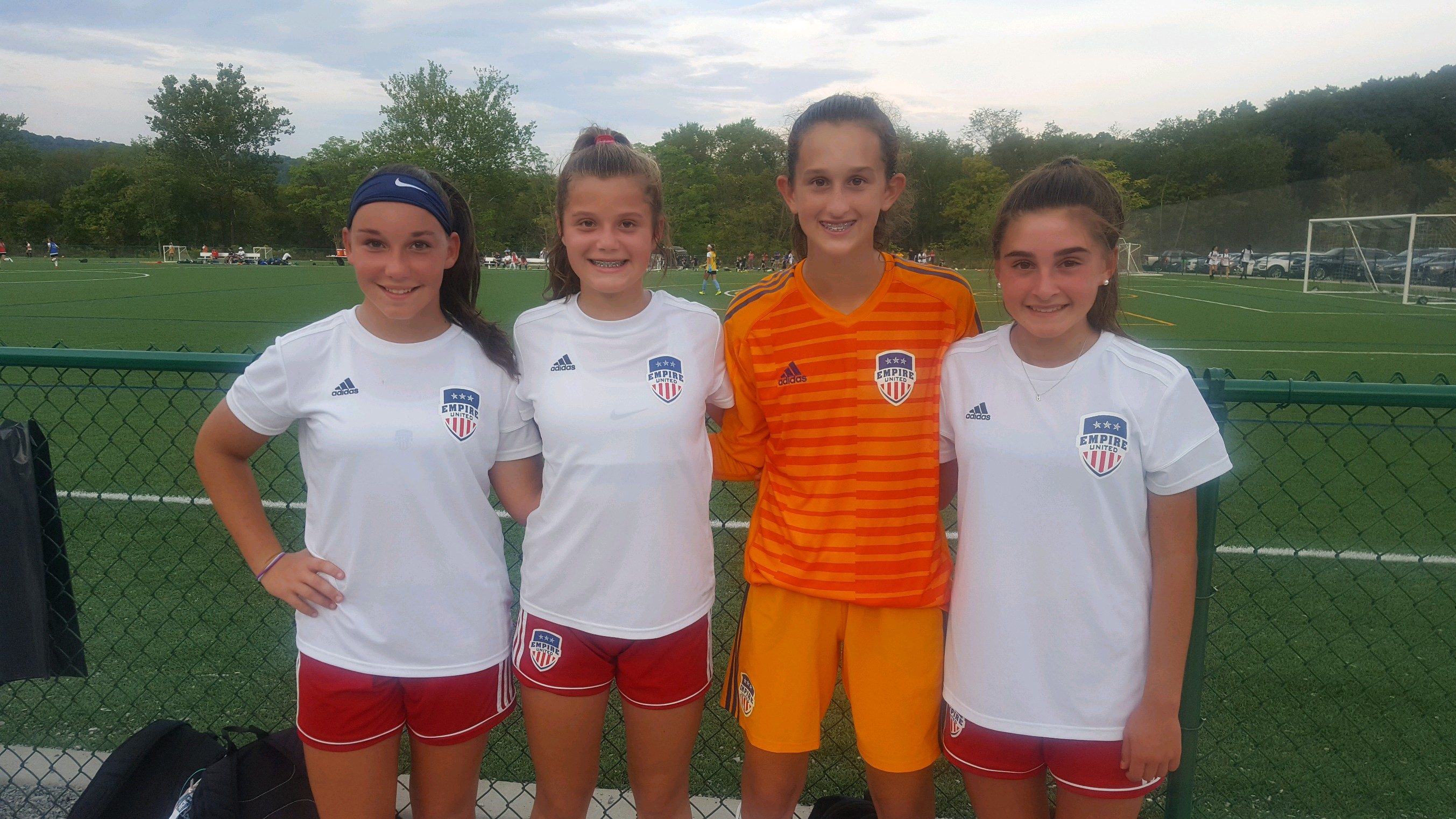 Four Empire United Girls Selected for US Soccer Youth National Team ID Center