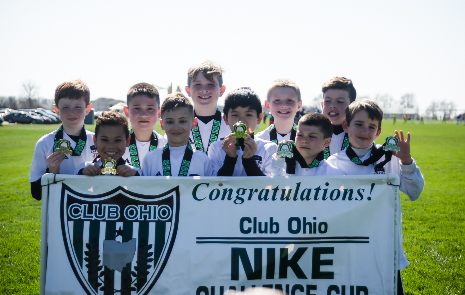 Congratulations to Empire United 2008 Boys in winning their bracket at Club Ohio Nike Challenge Cup 2018!