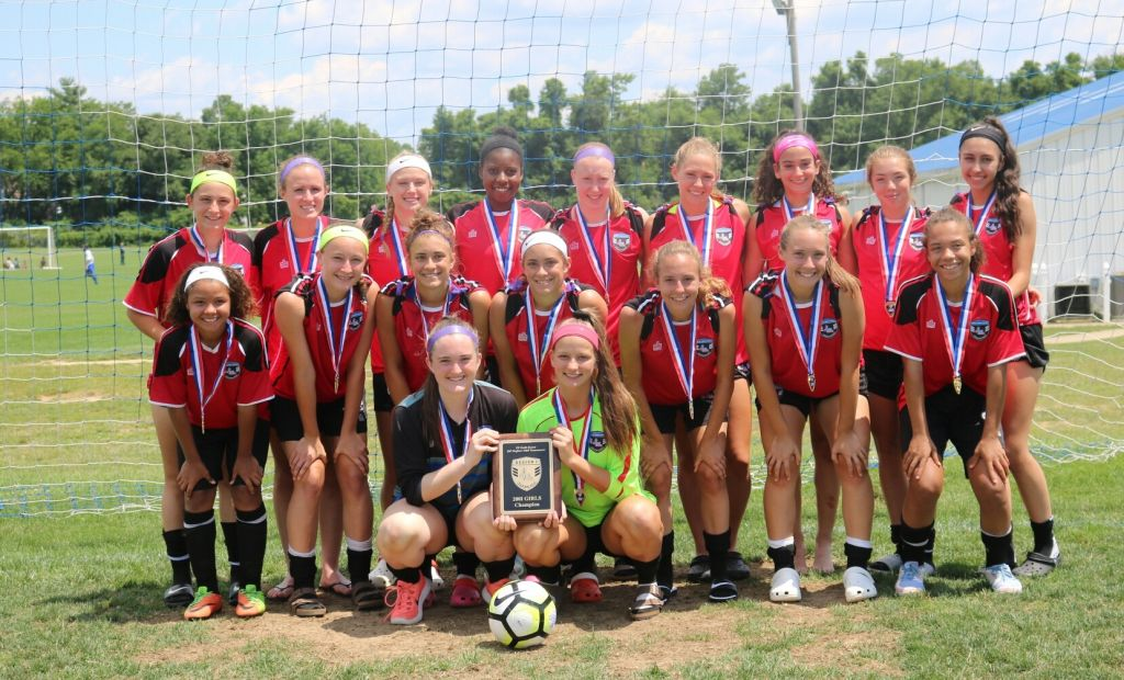NYSW 01 Girls ODP Win Back to Back Regional Championship