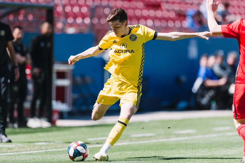 2002 Jeorgio Kocevski plays for Crew SC u17 at 2019 GA Cup Finals Week