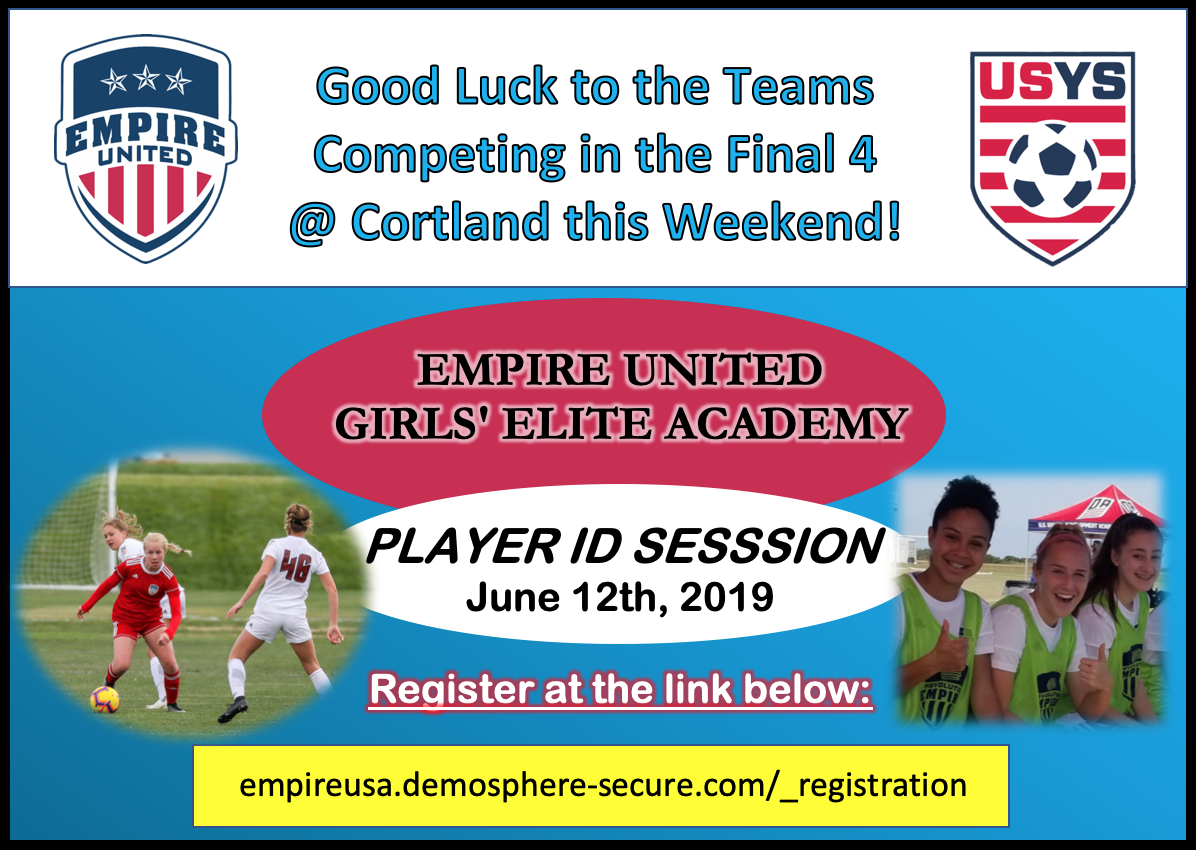 Girls' Elite Academy Tryout Registration