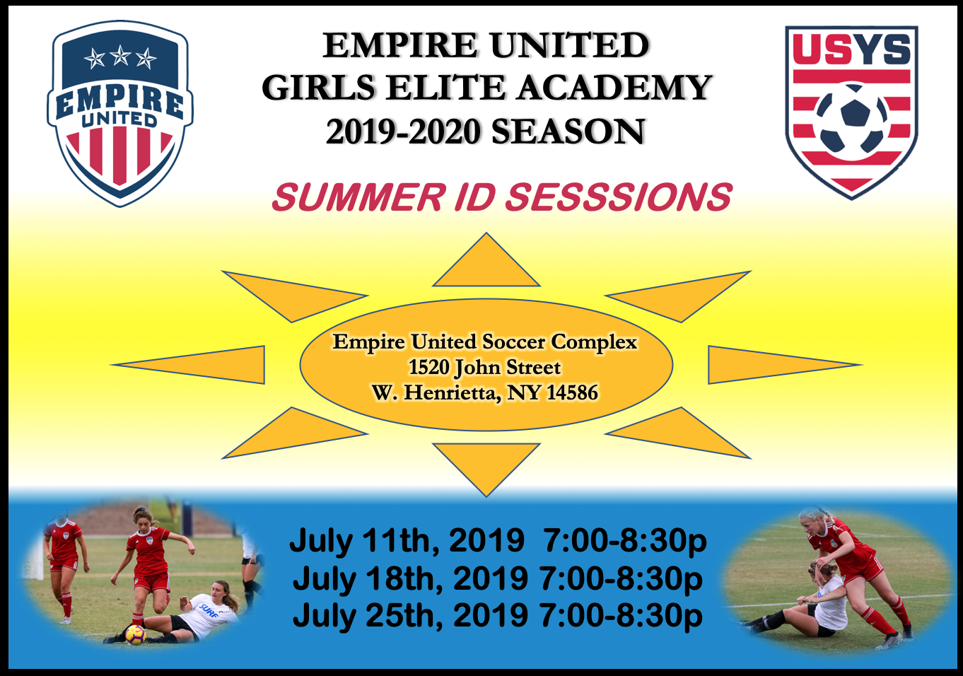 Summer ID Sessions
