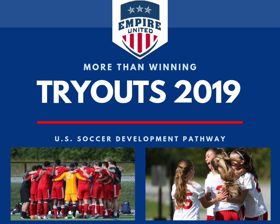 Empire United Buffalo 2019 Summer Tryouts & Soccer Camp