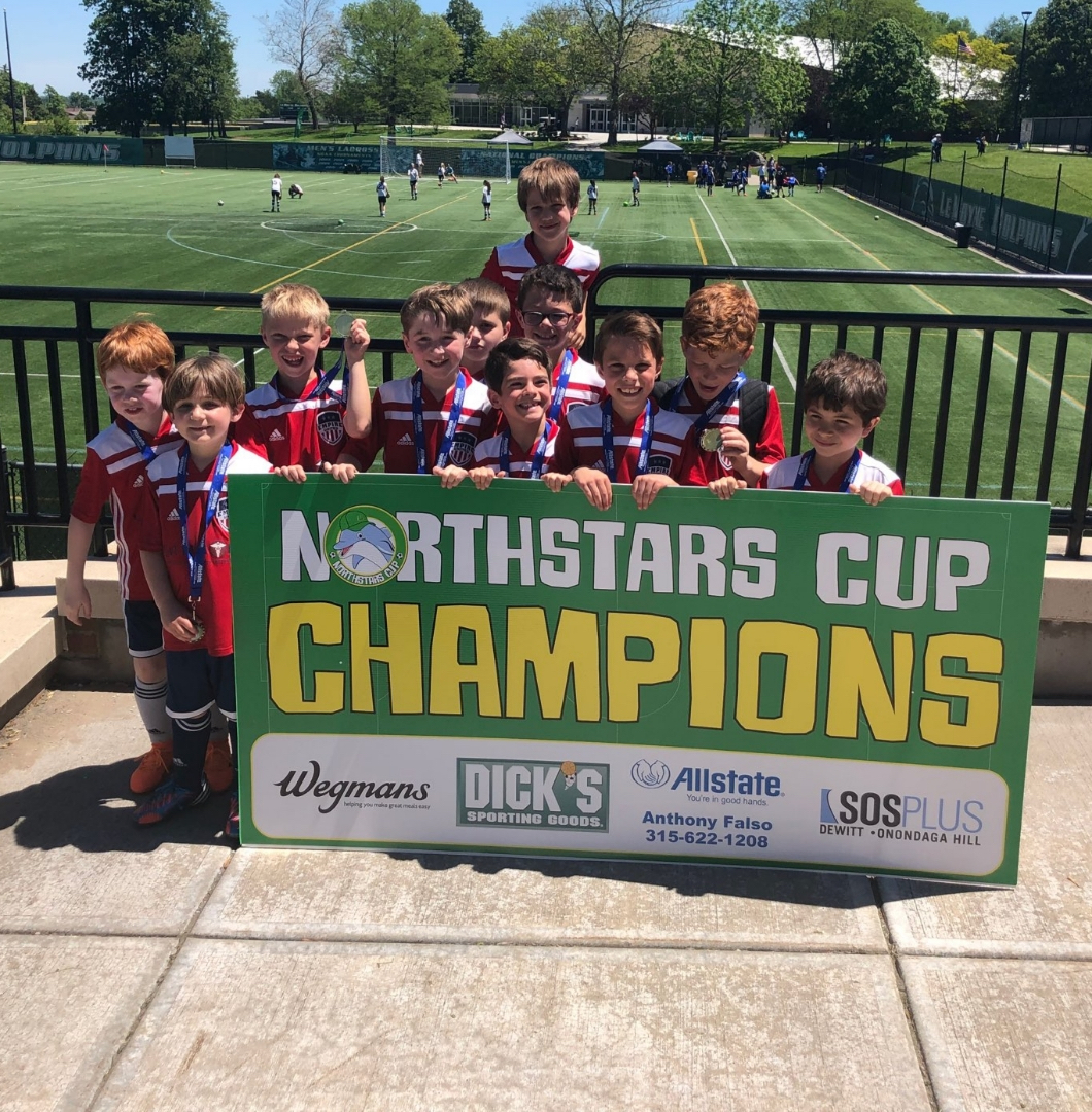 Boys 2011s Crowned Champions!